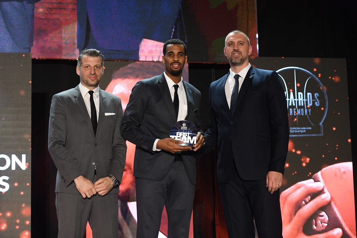 Brandon Davies, First Team - 2018-19 Awards Ceremony - Final Four Vitoria-Gasteiz 2019 - EB18