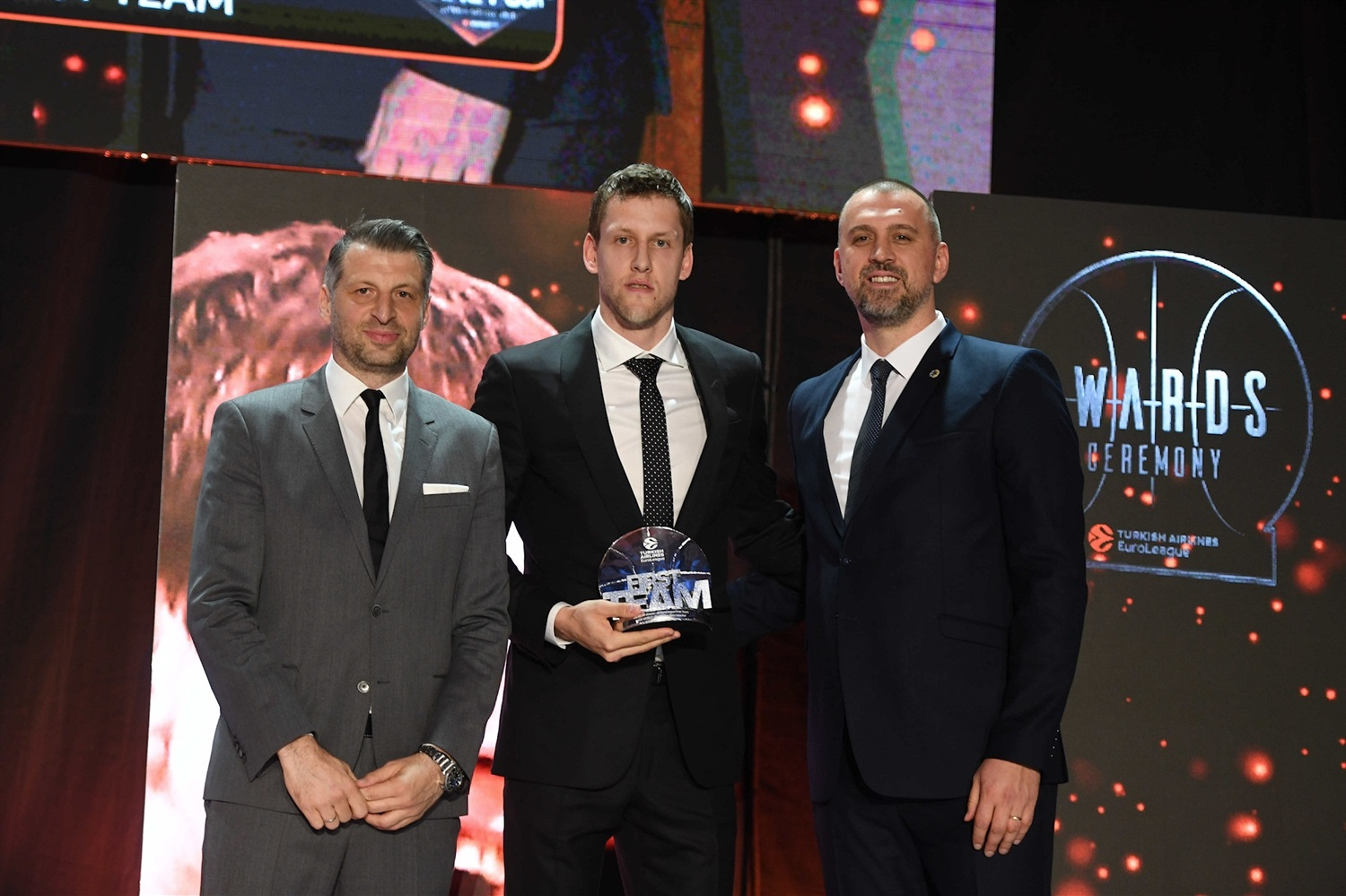 Jan Vesely, First Team - 2018-19 Awards Ceremony - Final Four Vitoria-Gasteiz 2019 - EB18