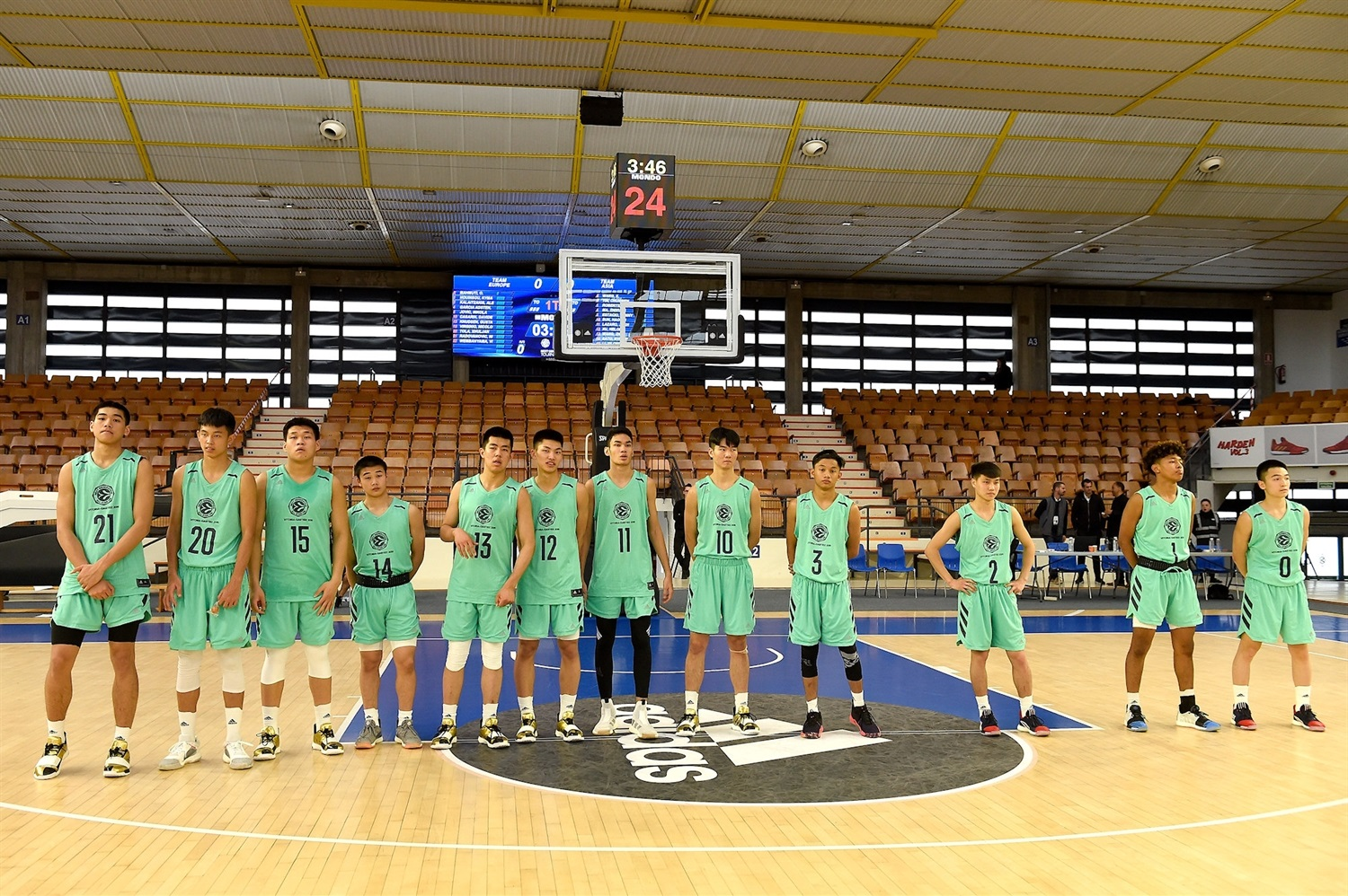 Team Asia- International All Star Game presented by adidas - Final Four Vitoria-Gasteiz 2019 - J18