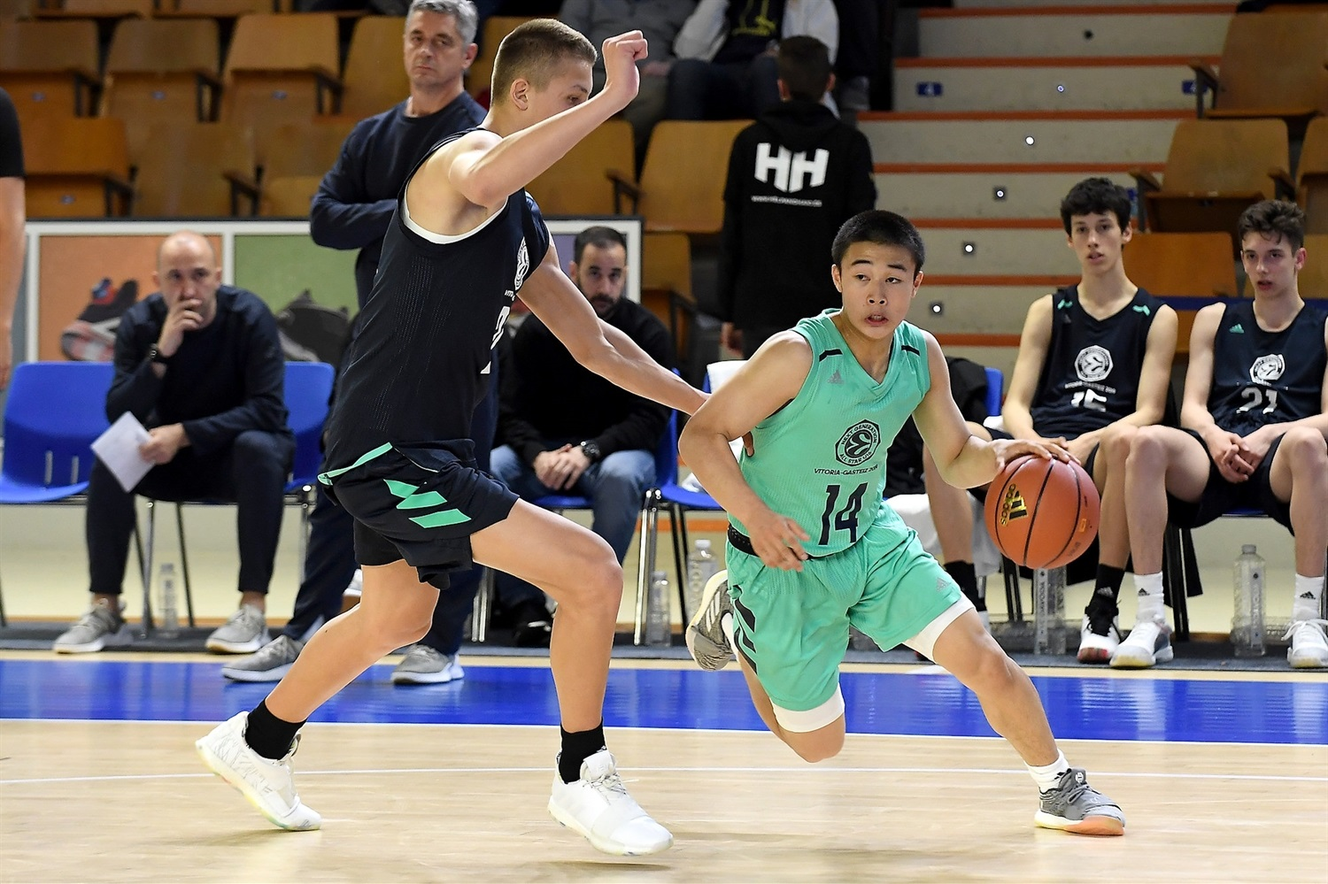 Ryosei Sato of Team Asia - International All Star Game presented by adidas - Final Four Vitoria-Gasteiz 2019 - J18