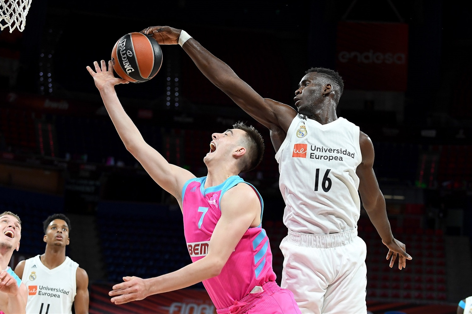 Usman Garuba - U18 Real Madrid - ANGT Final Four Vitoria-Gasteiz 2019 - JT18