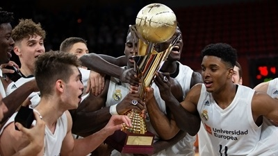 U18 Real Madrid is ANGT champ!