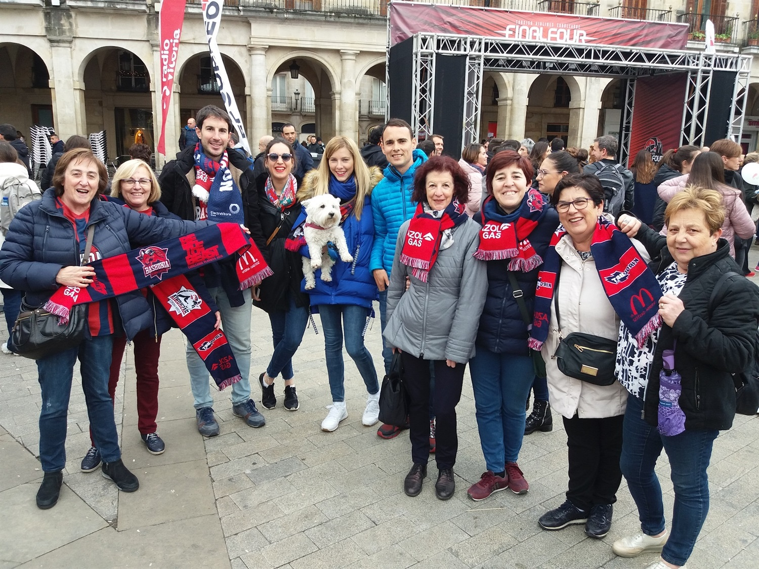 Fans Baskonia - FanZone - Final Four Vitoria-Gasteiz 2019 - EB18
