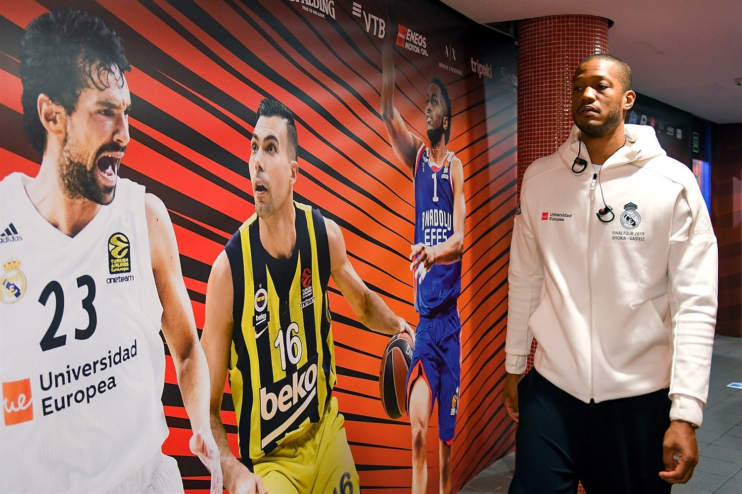 Anthony Randolph - Real Madrid - Final Four Vitoria-Gasteiz 2019 - EB18