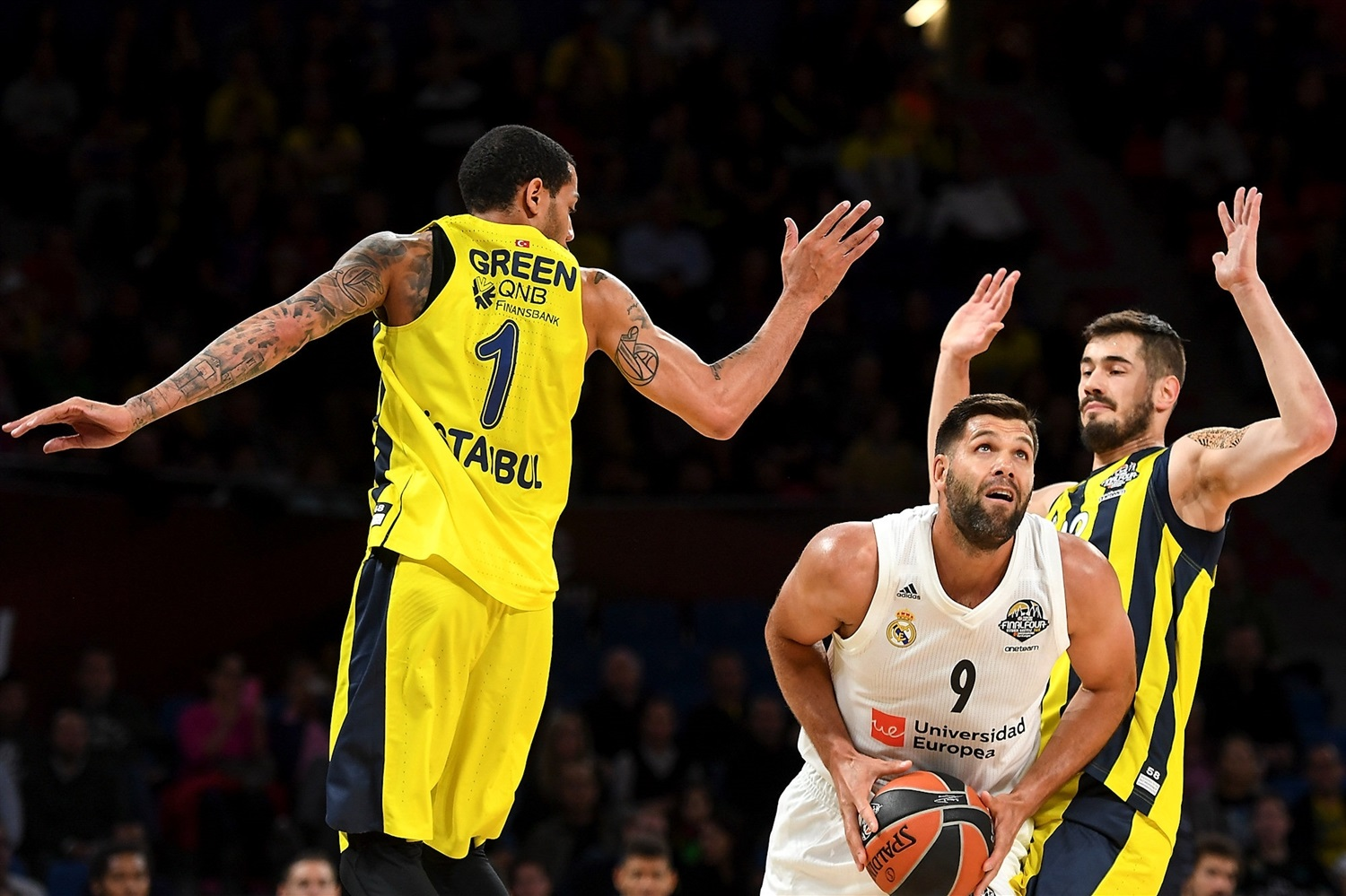 Felipe Reyes - Real Madrid - Final Four Vitoria-Gasteiz 2019 - EB18
