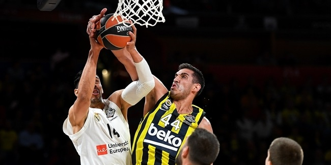 Final Four Vitoria-Gasteiz 2019: Third Place Game, Fenerbahce Beko Istanbul vs. Real Madrid