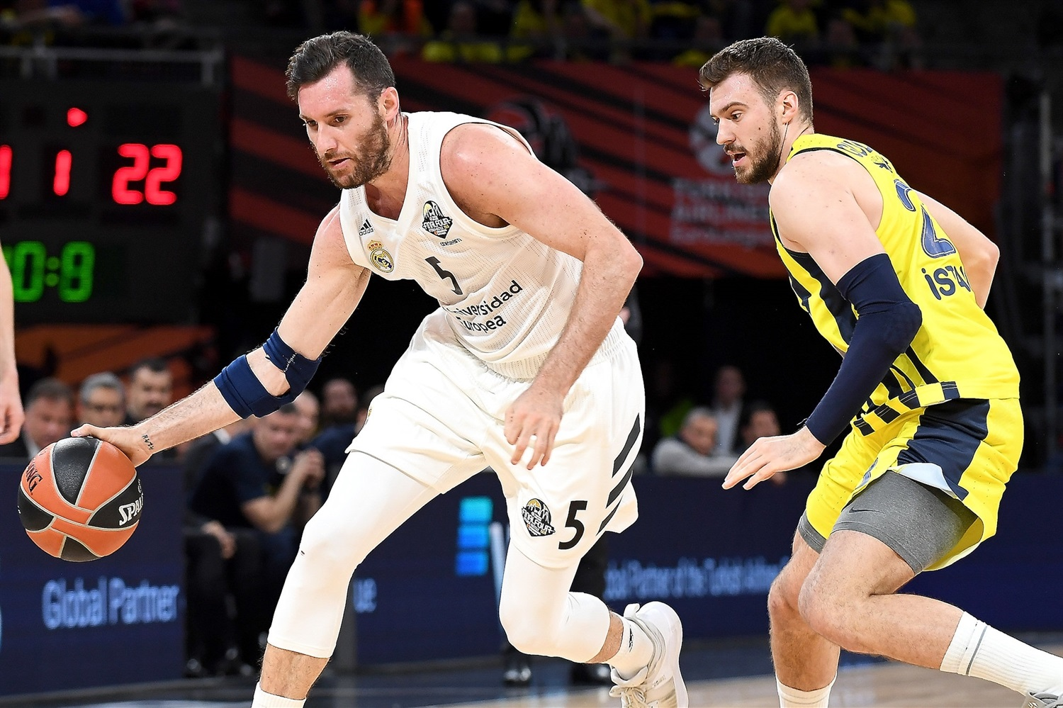 Rudy Fernandez - Real Madrid - Final Four Vitoria-Gasteiz 2019 - EB18