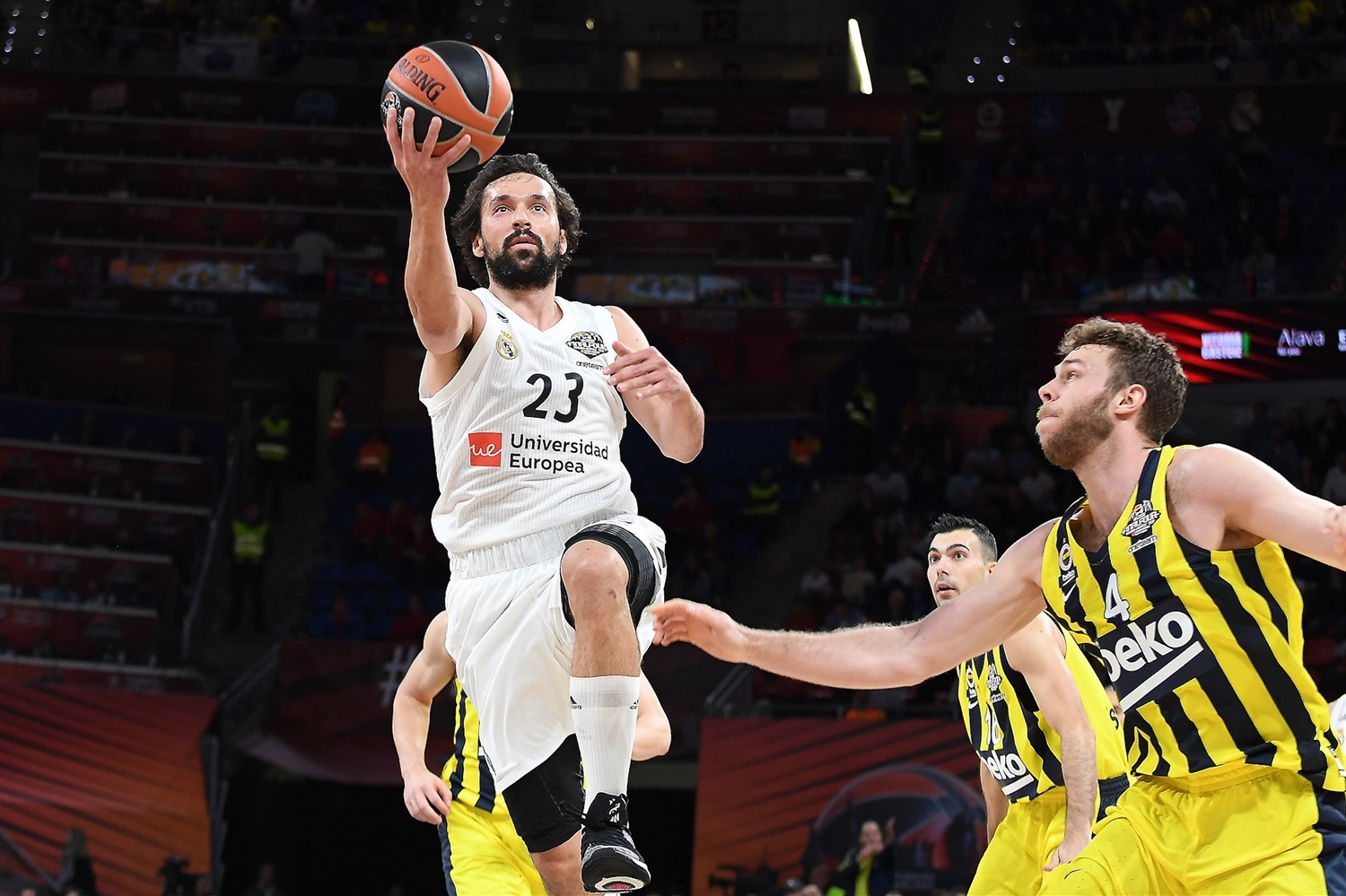 Sergio Llull - Real Madrid - Final Four Vitoria-Gasteiz 2019 - EB18