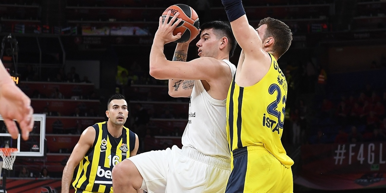 Gabriel Deck - Real Madrid - Final Four Vitoria-Gasteiz 2019 - EB18