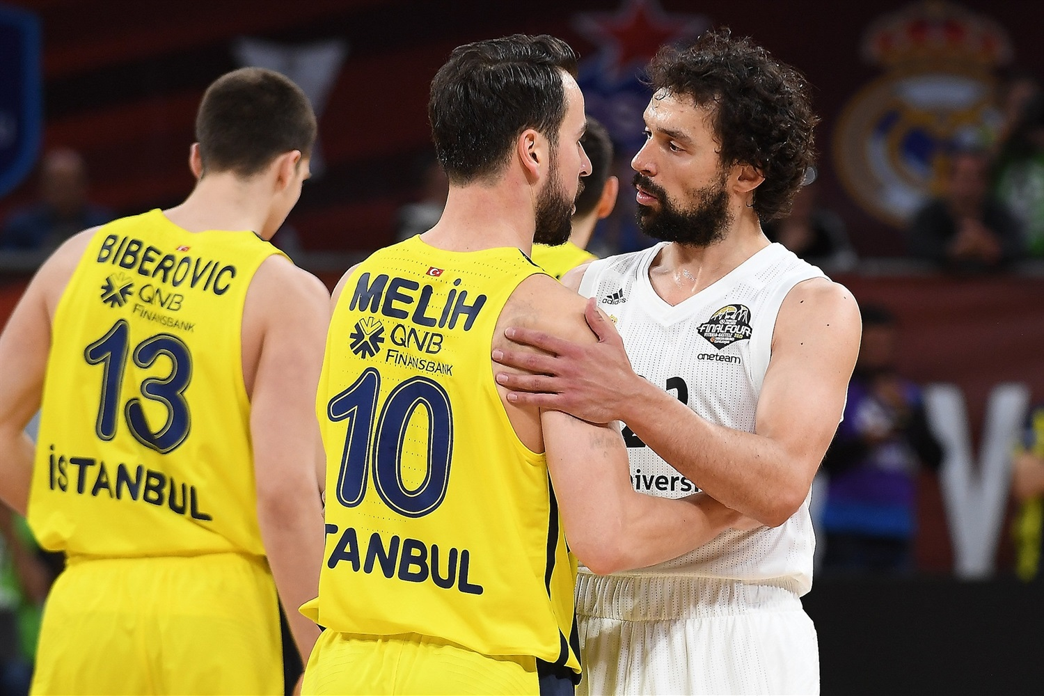 Sergio Llull 2 Real Madrid - Final Four Vitoria-Gasteiz 2019 - EB18