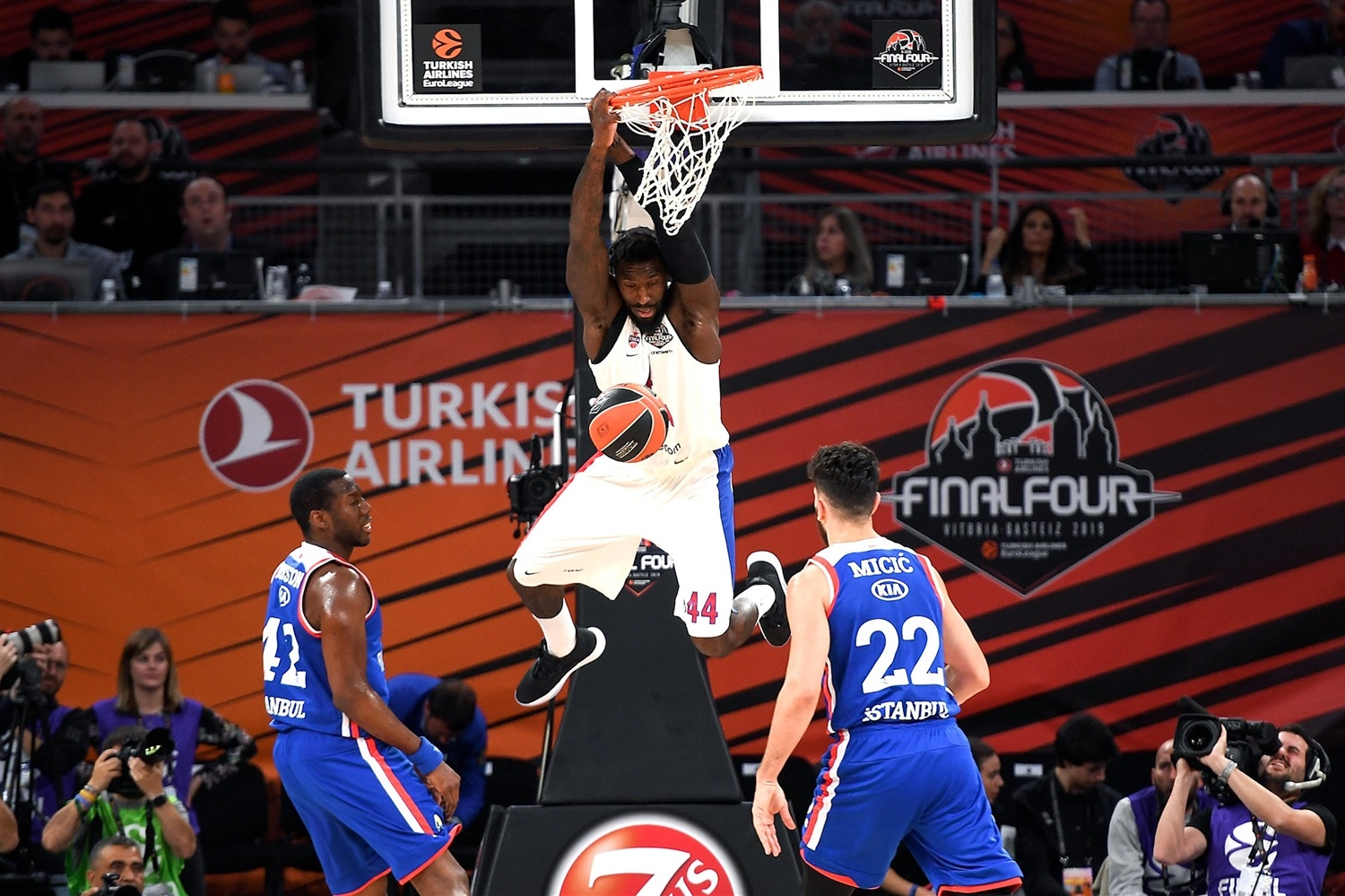 Othello Hunter - CSKA Moscow - Final Four Vitoria-Gasteiz 2019 - EB18