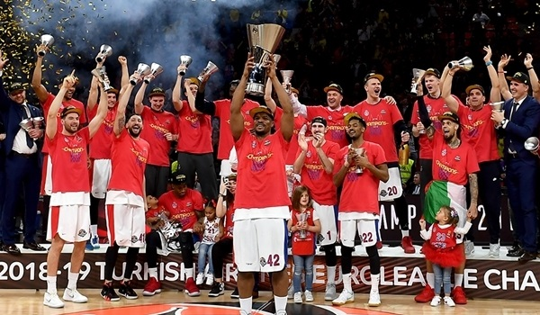 CSKA Moscow is the 2019 EuroLeague champion