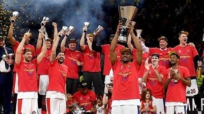 CSKA Moscow is the 2018-19 EuroLeague champion
