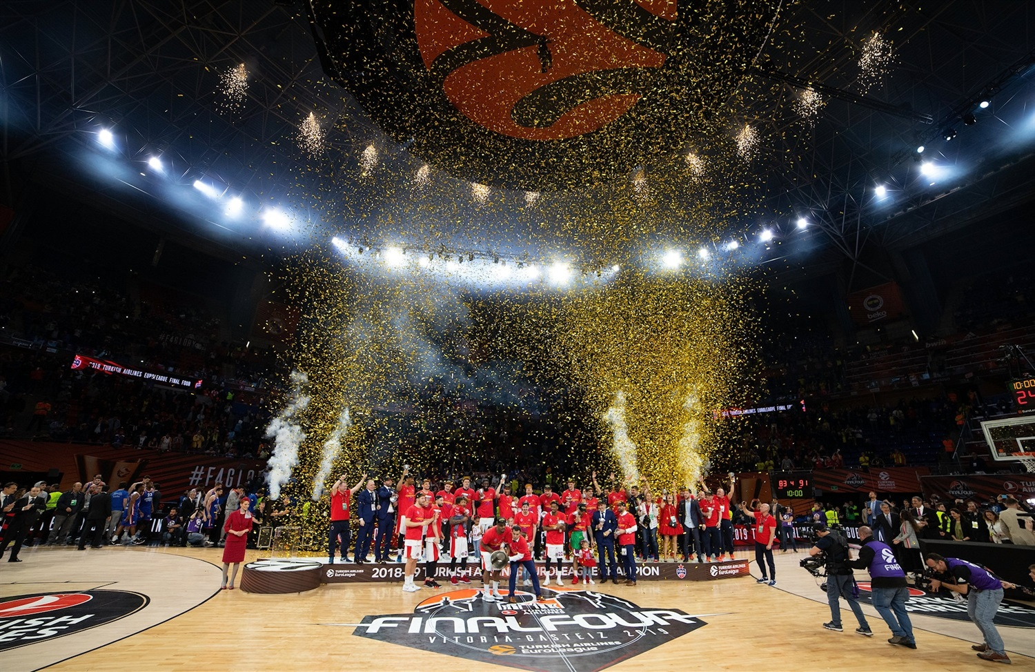 CSKA Moscow Champ - Final Four Vitoria-Gasteiz 2019 - EB18
