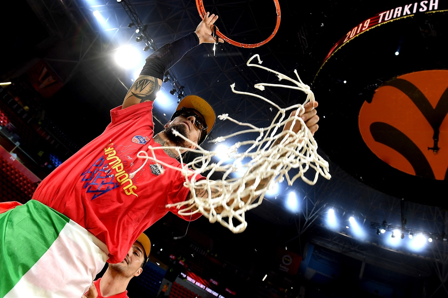 Daniel Hackett - CSKA Moscow Champ - Final Four Vitoria-Gasteiz 2019 - EB18