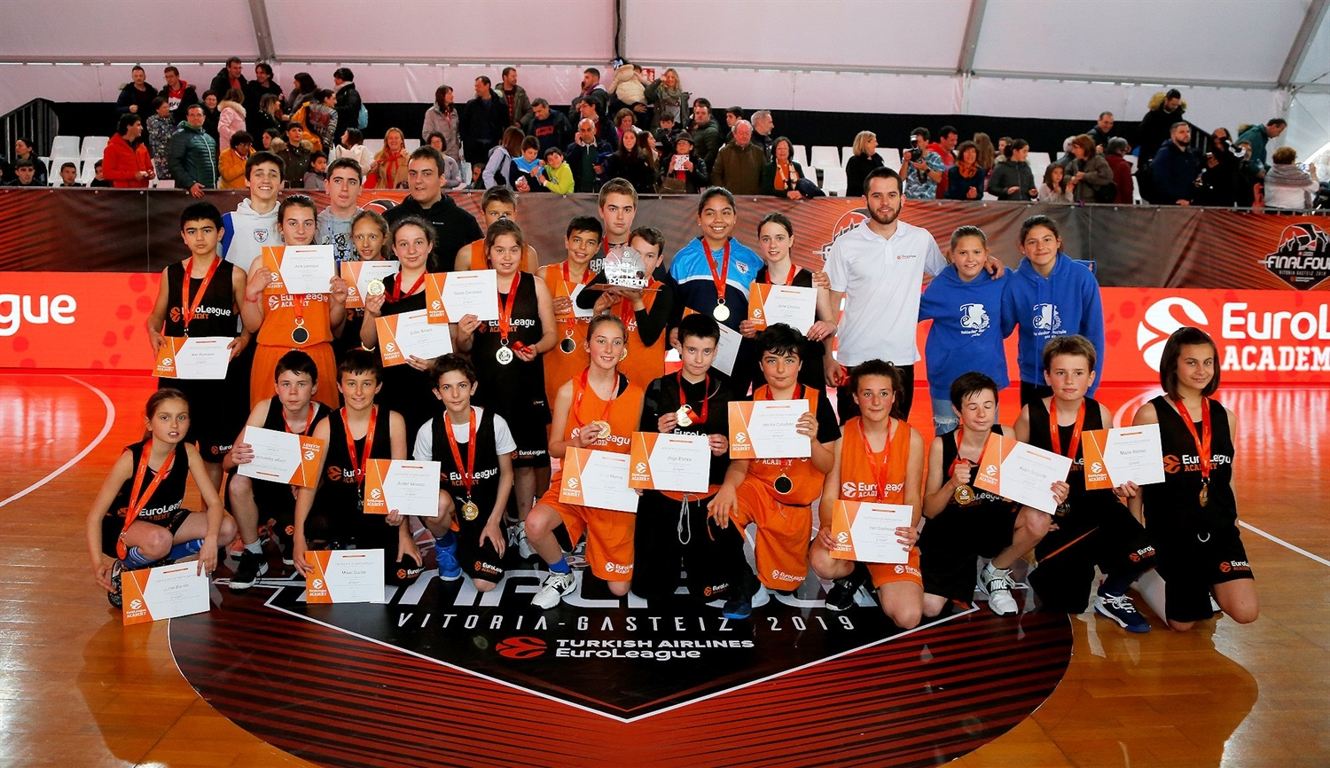 EuroLeague Academy at FanZone - Final Four Vitoria-Gasteiz 2019