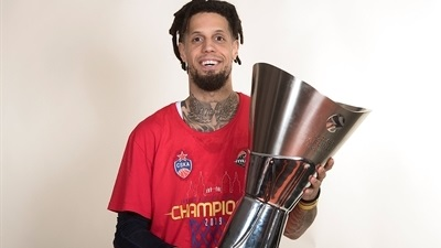 CSKA trophy photo shoot