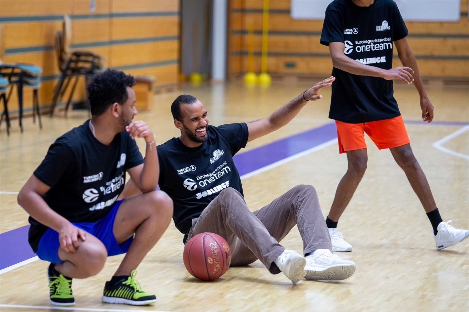 Skyliners One Team session