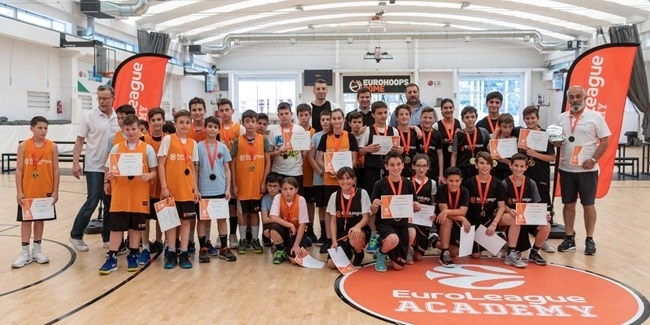 Euroleague Academy's U12 tourney in Athens a success