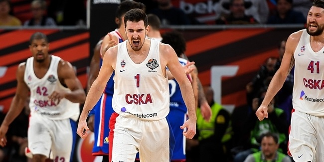 Domestic leagues playoffs: CSKA routs Khimki in VTB finals opener