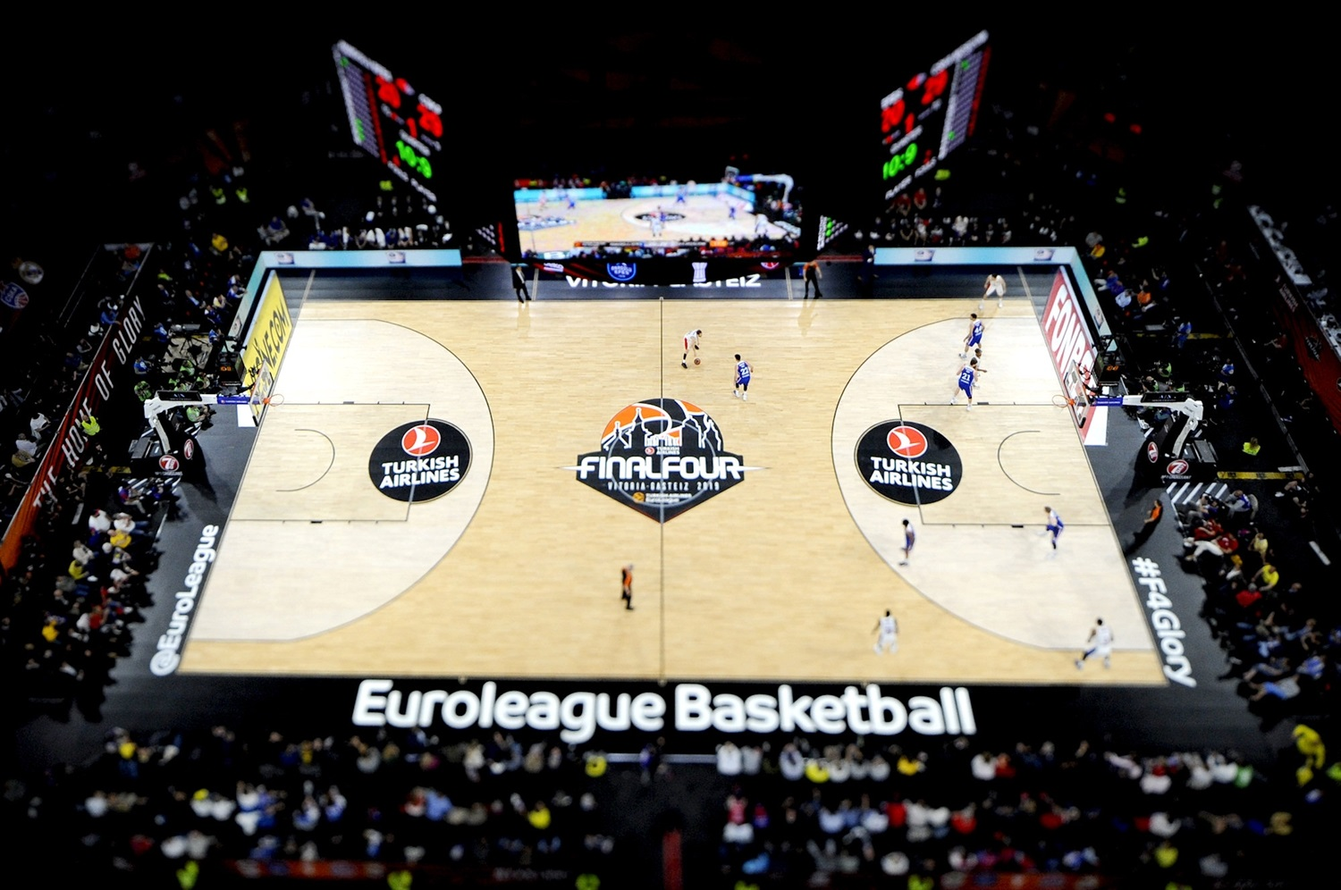 Fina, Efes vs. CSKA - Final Four Vitoria-Gasteiz 2019 - EB18