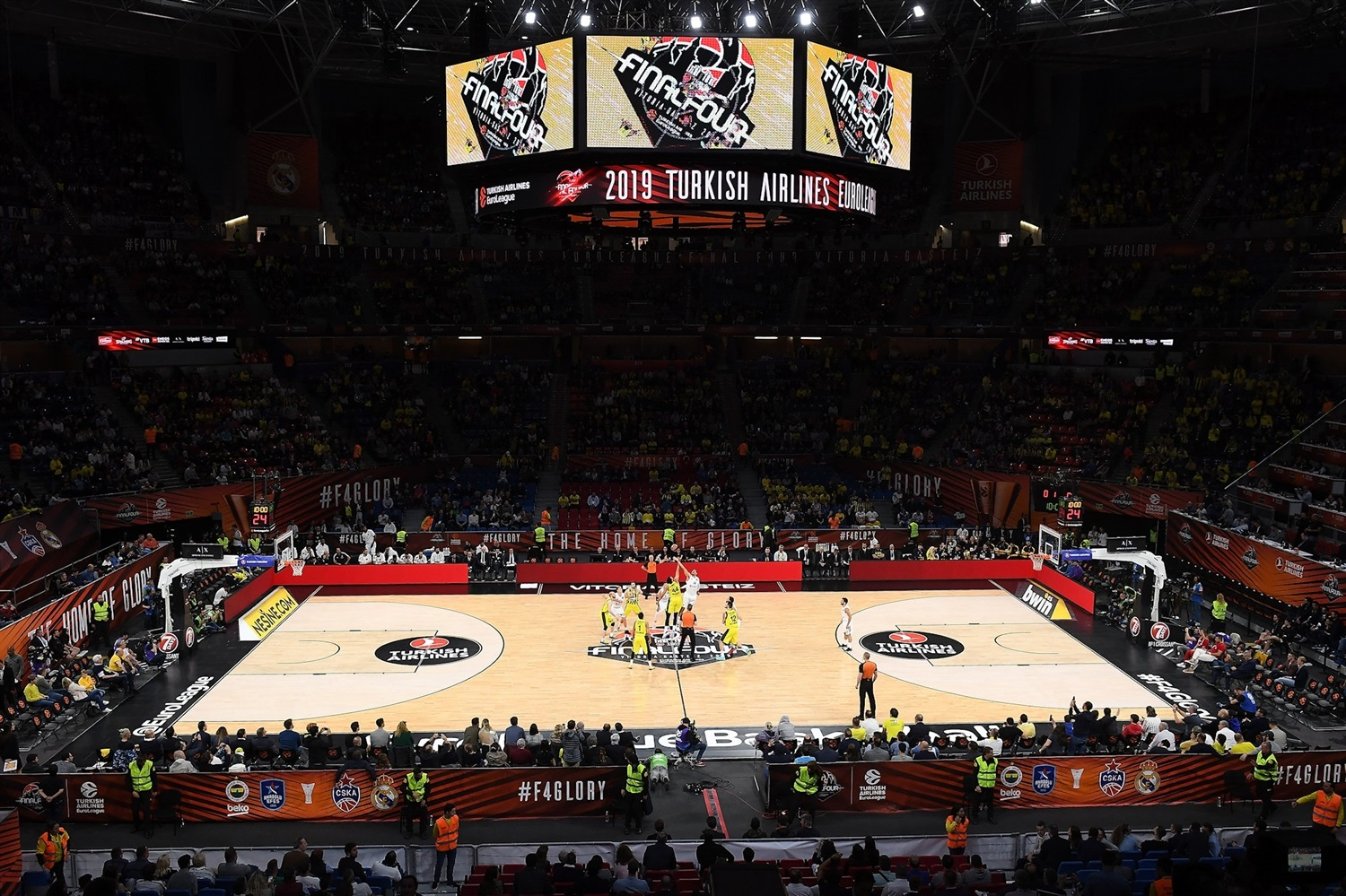 Tip-Off Fenerbahce Beko Istanbul vs. Real Madrid - Final Four Vitoria-Gasteiz 2019 - EB18