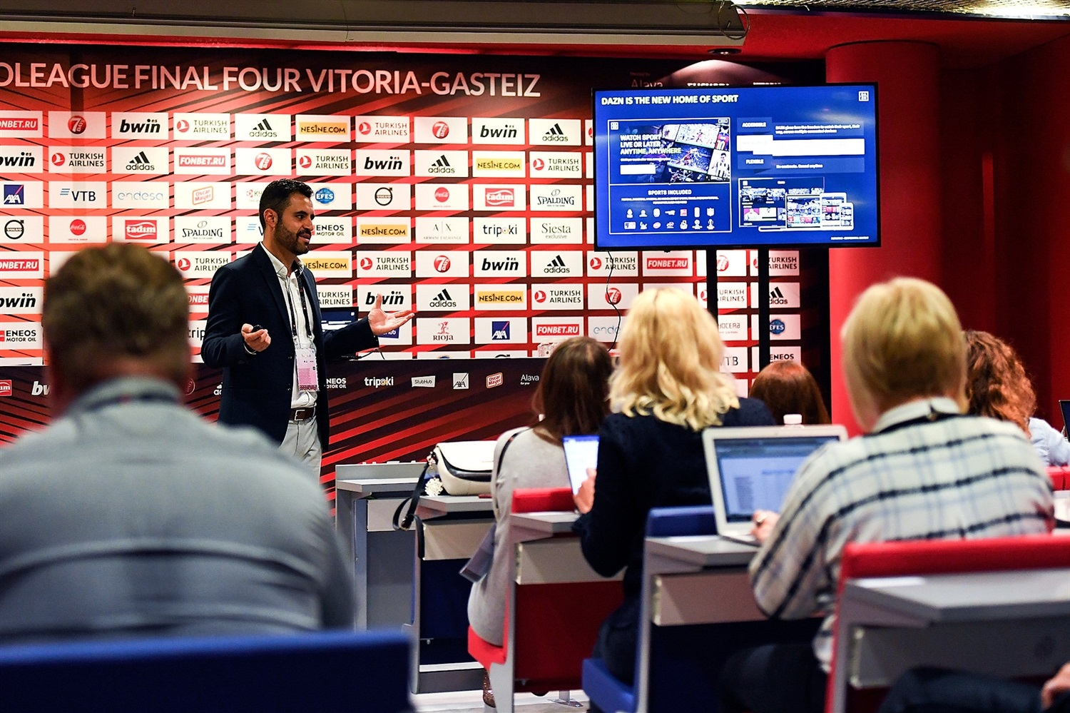 Inaki Sanchez - Sports Business MBA by EB Institute - Final Four Vitoria-Gasteiz 2019 - EB18