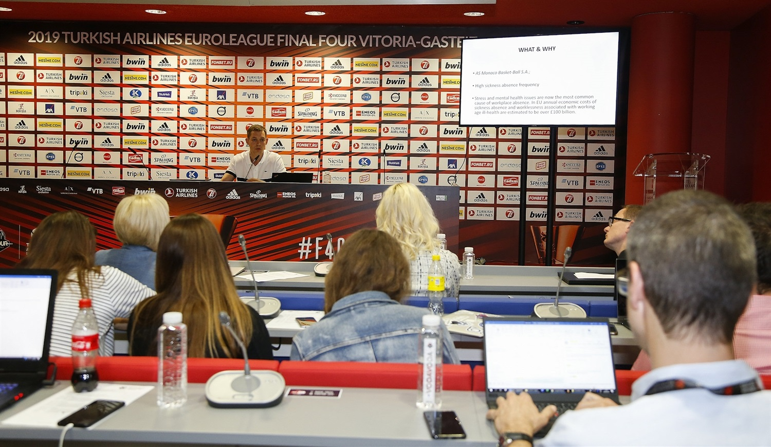 Oleksiy Yefimov - Sports Business MBA by EB Institute - Final Four Vitoria-Gasteiz 2019 - EB18