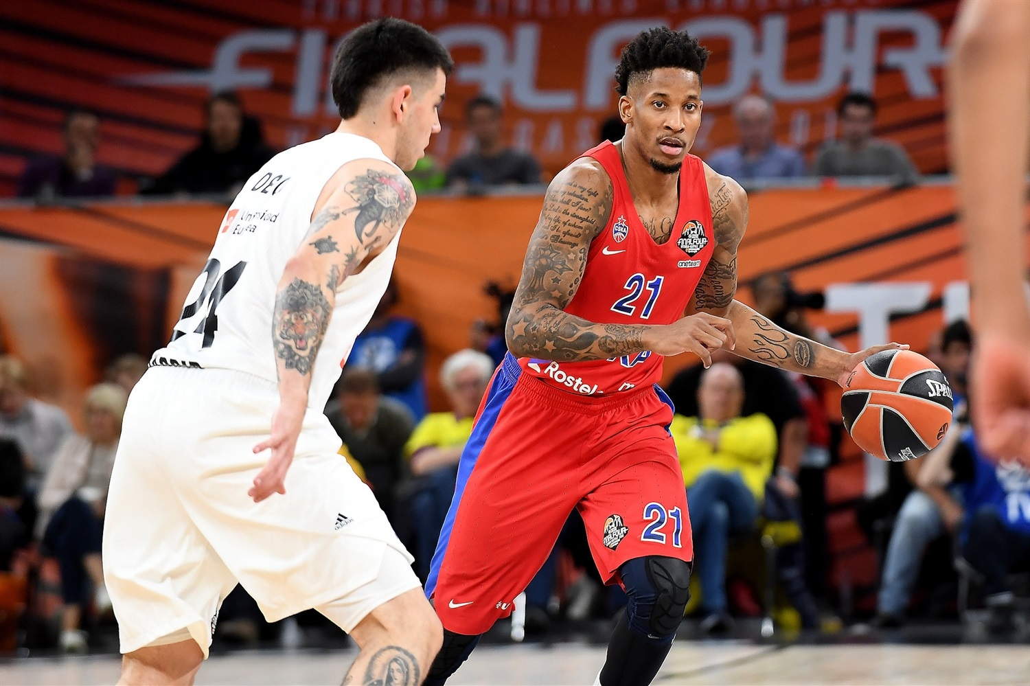 Will Clyburn  - CSKA Moscow - Final Four Vitoria-Gasteiz 2019 - EB18