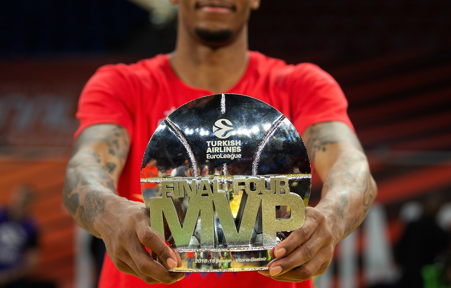 Will Clyburn MVP - Final Four Vitoria-Gasteiz 2019 - EB18