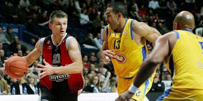 Week 2 co-MVPs: Jomantas of Lietuvos Rytas, Lorbek of Lottomatica Roma
