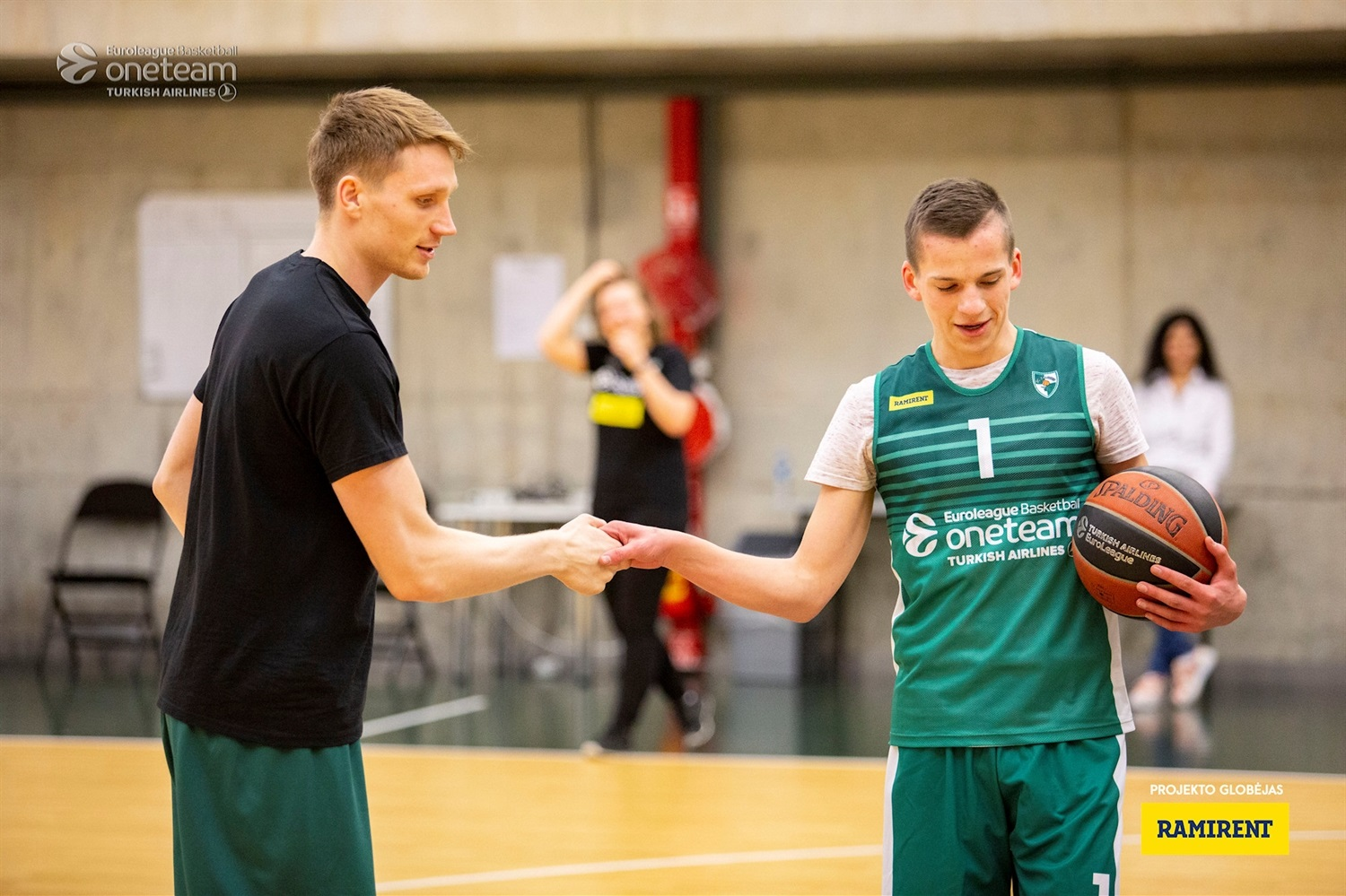 Marius Grigonis - Zalgiris Kaunas One Team Session (photo Zalgiris) - EB18