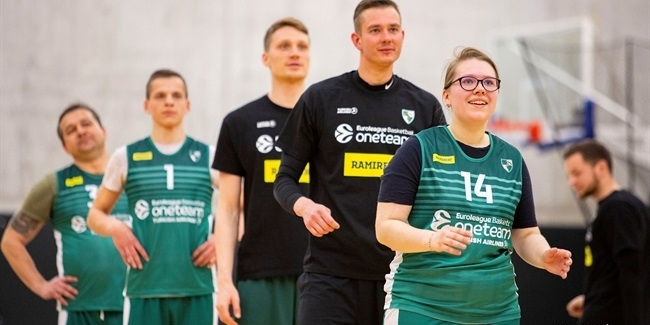 Grigonis, Zalgiris working to improve society through One Team