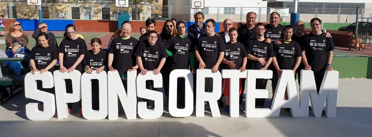 Local sponsors support One Team in Malaga