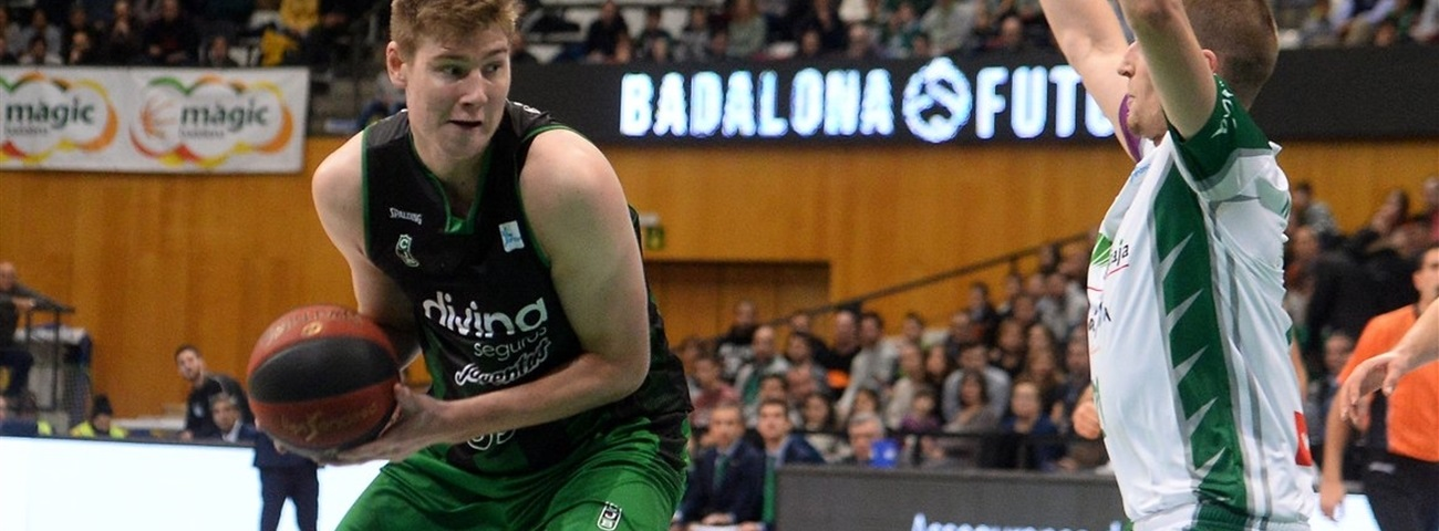 Joventut extends center Birgander