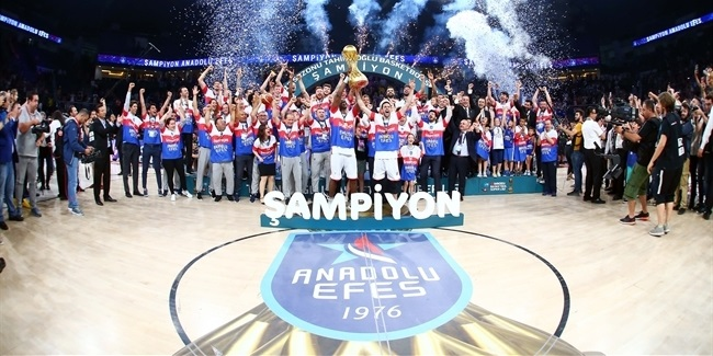 Domestic league playoffs: Efes, Real wins league titles!