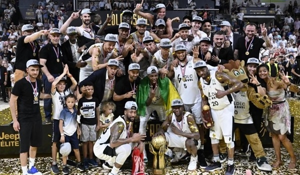 Domestic playoffs: ASVEL lifts French crown