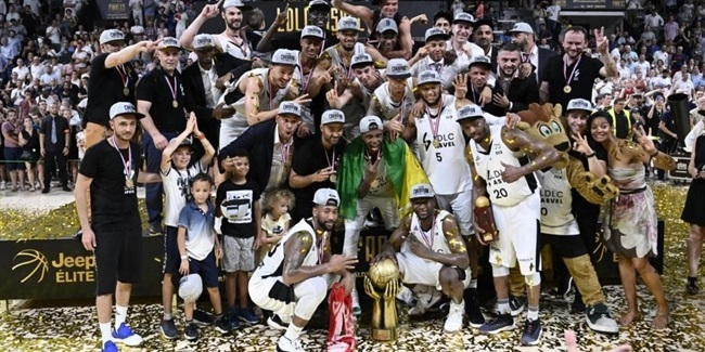 Domestic leagues playoffs: ASVEL lifts French crown
