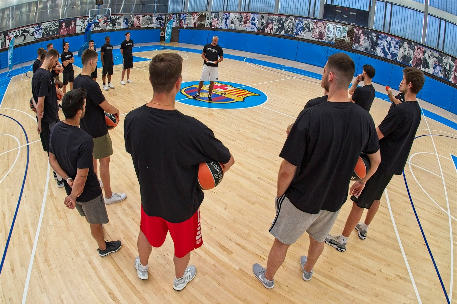 Euroleague players, One Team Session in Barcelona - EB19