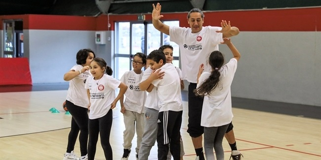 'Basket for Good' in Milan through One Team