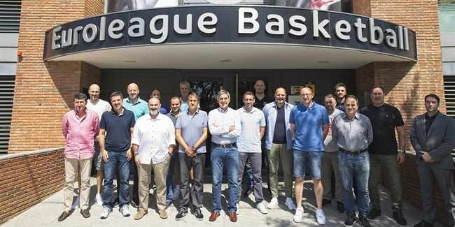 EuroCup coaches close first week of EB Institute Annual Workshops