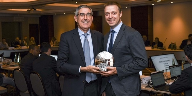Gianluigi Porelli EuroLeague Executive of the Year: Paulius Motiejunas, Zalgiris Kaunas