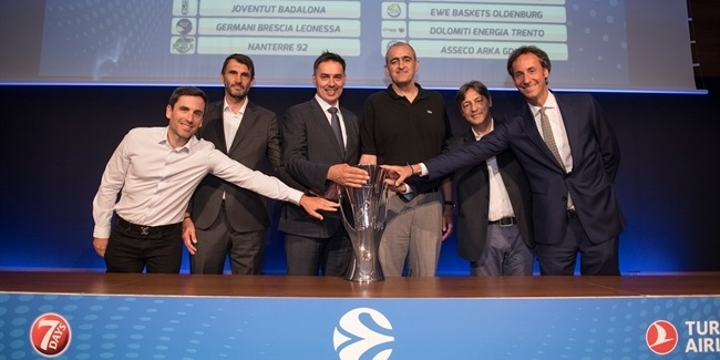 Reaction to the 2019-20 7DAYS EuroCup Draw