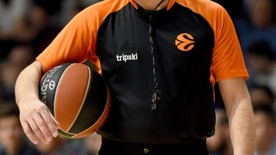 Euroleague Basketball adds four referees for 2019-20