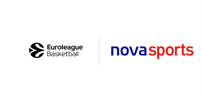Novasports remains Greek home of  Euroleague Basketball through 2023