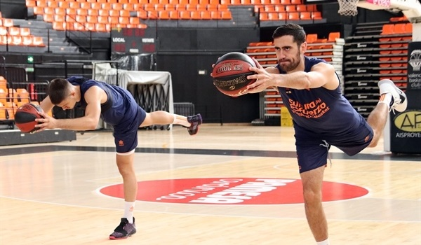 Valencia also tips off training camp