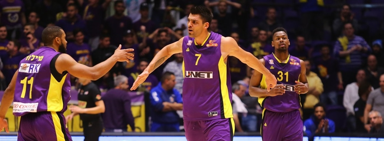 Rishon bulks up with Chubrevich at center