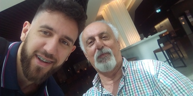 Vladimir Stankovic talks to Vasilije Micic of Efes and Serbia