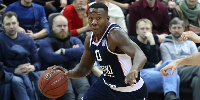 Rishon inks Belarusian League MVP Saddler