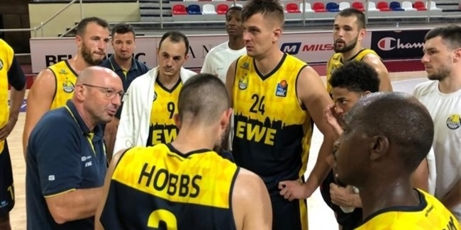Roster rundown: EWE Baskets Oldenburg
